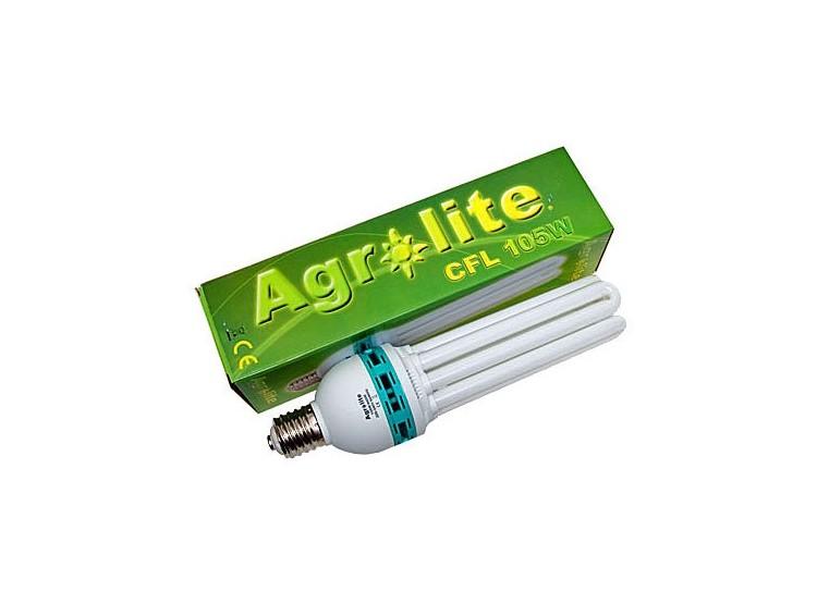 Ampolleta CFL 105W Agrolite para Crecimiento para cultivo indoor